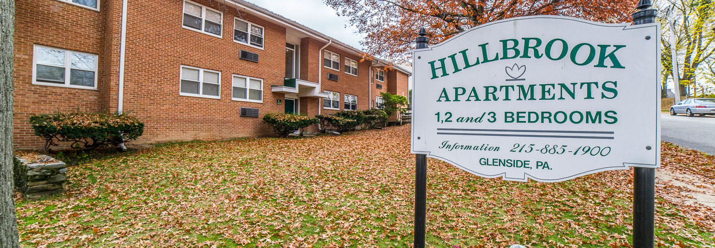 Hillbrook Apartments in Glenside, PA